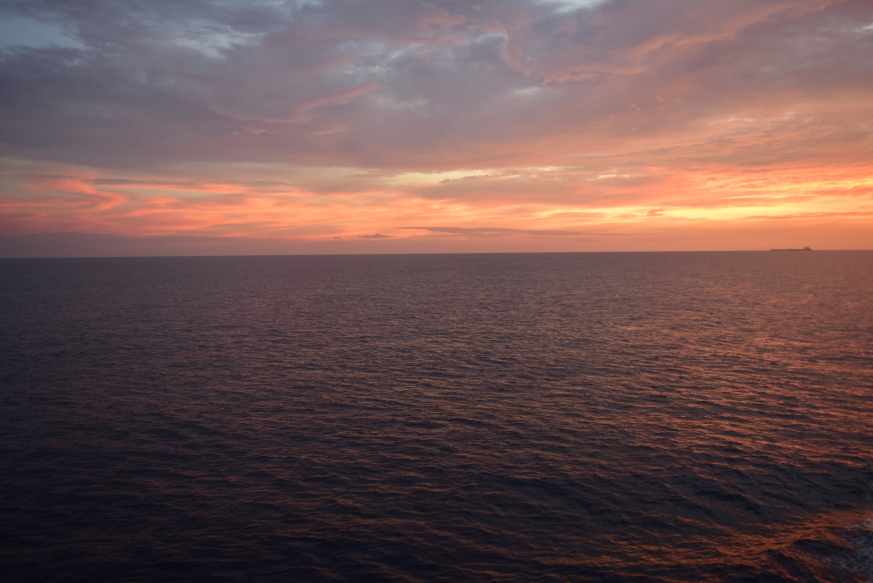 View from Ship deck